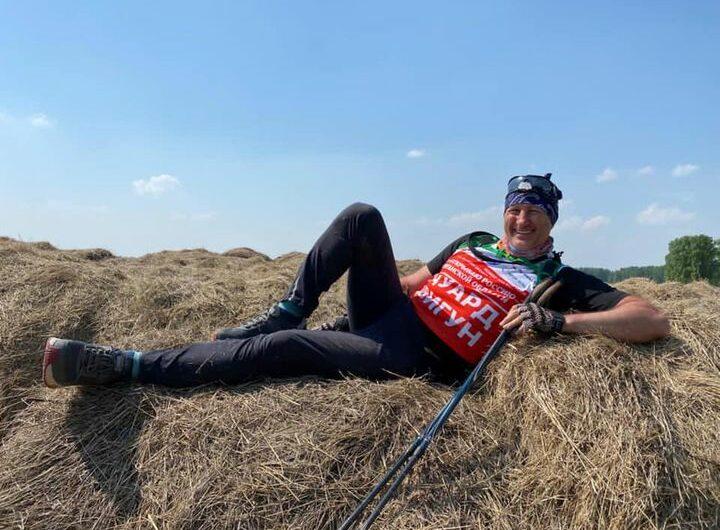 Эдуард Цвигун в рамках проекта «Я иду, открываю Россию» прошагал 665 км по Курганской области!
